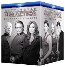 Amazon Battlestar Galactica The Complete Series Blu ray.