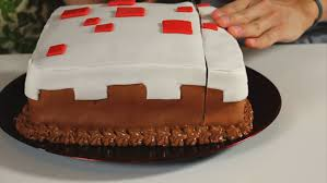 minecraft cake recipe. Perfect Cake Minecraft Cake Throughout Recipe