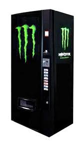 Monster Vending Machines Fascinating Vendo Model 48 4848oz Can 2048 Monster Energy Graphics