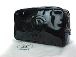 auth chanel patent leather