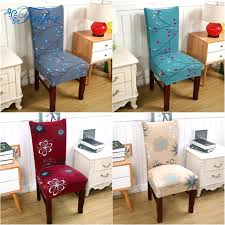 home chair covers quality stretch dining chair cover plaids flower pattern home decor spandex decorative slipcovers