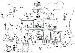 Coloring Sheet House Coloring Free Printable House Coloring Pages