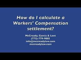 Long Beach Workers Comp Settlement Chart How Do You Calculate A Workers Compensation Settlement