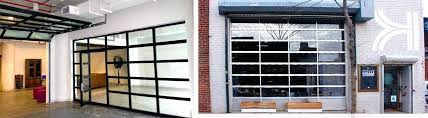 choosing the glass roll up door right for your business doors commercial