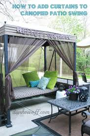 medium to large size of patio swing makeoverdiy show off diy decorating and home outdoor daybed