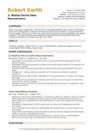 skills for sales representative resume medical device sales representative resume samples qwikresume
