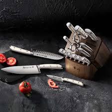 Cangshan S1 Series <b>17</b>-<b>piece</b> Forged German <b>Steel</b> Knife Set
