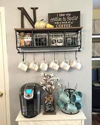 coffee station decor kitchen coffee station ideas home coffee bar set ups and decorating ideas kitchen