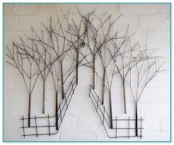 wire wall art classy wall art trees design inspiration
