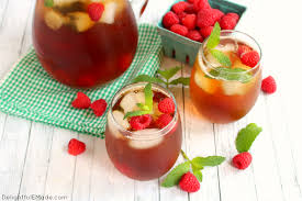glass of iced tea. Delighful Glass Thereu0027s Nothing Better Than A Cold Refreshing Glass Of Raspberry Iced Tea  To Quench Your On Glass Of Iced Tea