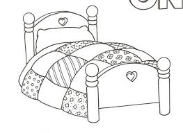 Small Picture bed coloring pages 28 images bed 33 free printable bedroom