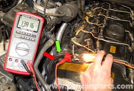 bmw e60 5 series water pump testing pelican parts technical article working at the front of the cylinder head i found the wiring harness that came