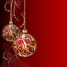 red christmas card red christmas card with christmas balls and snowflakes royalty free