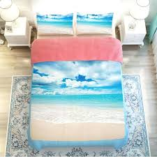 beachy bed sets ocean beach bedding set twin queen king size duvet cover bed regarding scene beachy bed sets beach