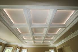Correctly Lighting A Coffered Ceiling Will Make The Room Seem Completely  Different Httpwwwonlinetipsorgcofferedceiling Pinterest