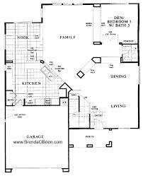 kb homes floor plans.  Homes KB Model 3233 Downstairs Floor Plan On Kb Homes Plans