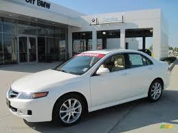 2007 Premium White Pearl Acura TSX Sedan #28143777 | GTCarLot.com ...