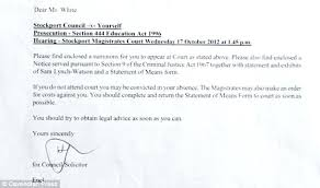 Letter For Being Absent School College Cover Templates Resignation