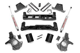 All Chevy 98 chevy lift kit : 7.5-inch Suspension Lift Kit for 2007-2013 2WD Chevrolet Silverado ...