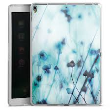 Blue for <b>Tablet Silicone Case</b> (transparent) for Apple iPad Pro 10.5 ...
