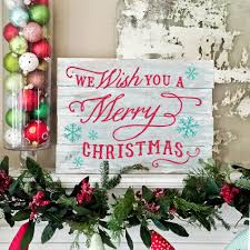 Christmas Signs Christmas In July Plank Wood Signs Lazy Susan Multiple Sizes