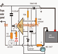 wiring diagram solar battery charger wiring image make this zero drop solar battery charger circuit on wiring diagram solar battery charger