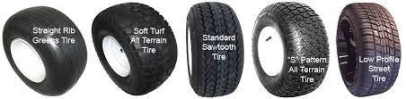 Golf Cart Tire Size Chart Golf Cart Tires And Wheels Explained Golf Car