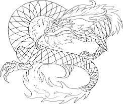 Komodo Dragon Coloring Pages