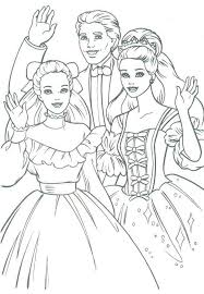vine barbie coloring page