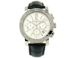 1andone rakuten global market bvlgari clock bvlgari watch men bvlgari clock bvlgari watch men bvlgari automatic chronograph alligator leather black white bb42wsldch watch serial