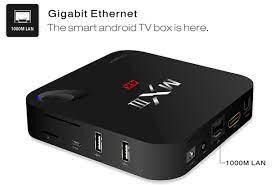 Dropshipping MXIII - G TV Box 1000M Ethernet Android 5.1 Quad Core Amlogic  S812 4K x 2K H.265 Google TV Player 2.4G 5G WiFi Bluetooth HDMI with AV TF  Card Input para
