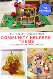 Our Community Helpers Chart Putting Together The Toddler And Preschool Community Helpers
