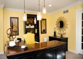 Yellow Office 21 Yellow Home Office Designs Decorating Ideas Design