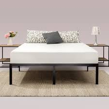 Priage 14 inch Classic Metal Platform Bed Frame Free Shipping