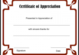 free templates for certificates of appreciation certificates of appreciation free templates example certificate of
