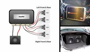 4 channel amp to 4 speakers and a sub Wiring Diagram Channel Engine Wiring Diagram
