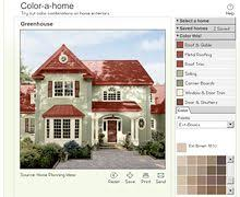 exterior color schemes with red roof. exterior color of your house schemes with red roof