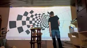 epson 3d wall painting timelapse