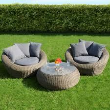 best rattan garden furniture elegant round garden with polyrattan sthle