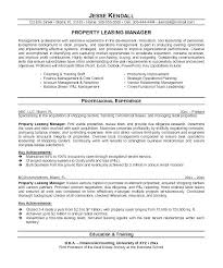 Property Manager Resume Noxdefense Com