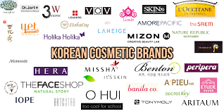 korean cosmetic brands big list for you