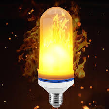 Light Bulbs That Look Like Fire Led Flame Effect Fire Light Bulbs 7w E27 E26 Warm Yellow Live Flame Emulation Effect Breathing Mode General Lighting Mode Buy Led Fake Torches