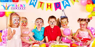 Child S Birthday Party Great Offer On Party Package From Wacky Fantazy Events