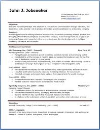 Free Resume Format Templates Custom Professional Resume Formats Free Download Kubreeuforicco