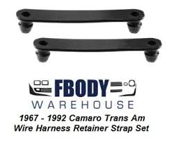 fbodywarehouse screws, clips, bolts and fasteners 1967 1969 Truck Wiring Harness 1967 1992 camaro trans am wire harness retainer strap set