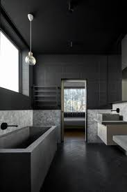 Fliesen Schwarz Weis Luxus Badezimmer Schwarze Fliesen Weiße Möbel