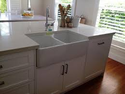 back to installing farmhouse sink