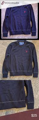 American Eagle Sweater Size Chart American Eagle Mens Crew Neck Sweater American Eagle Mens
