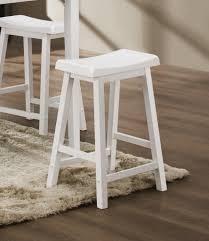saddle bar stools white