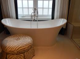 an enameled cast iron bathtub is an extremely durable and heavy bathtub which is made up of enameled cast iron it is made up of molded iron and is coated